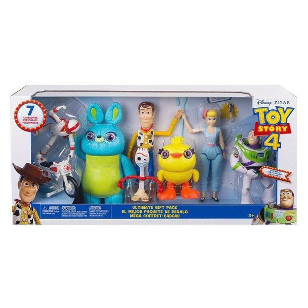 Toy Story 4 - Pack 7 Figuras