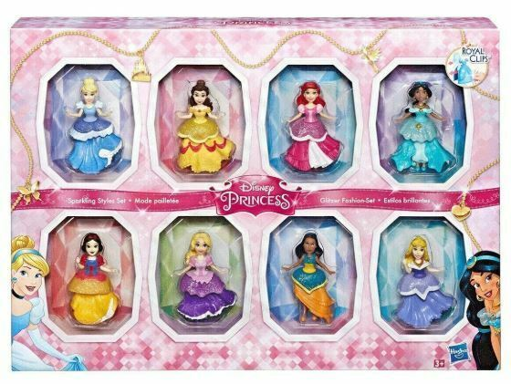 Princesas Royalclips Pack 8